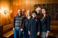 Julian T. Brolaski, Jonas Gren, Madeleine Grive, Kim Hyesoon, Marika Lagercrantz och Ljubov Jakymtjuk, Café Valand